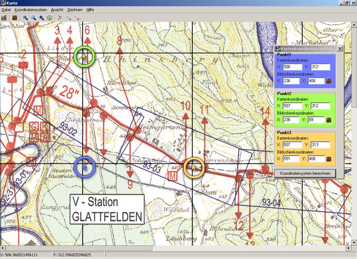 Échelonnement d'un plan informatisé de tracés