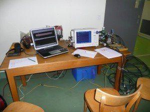 Vielkanal-Oszillograf zur Aufzeichnung der dreiphasigen Strom- und Spannungsschwingungen